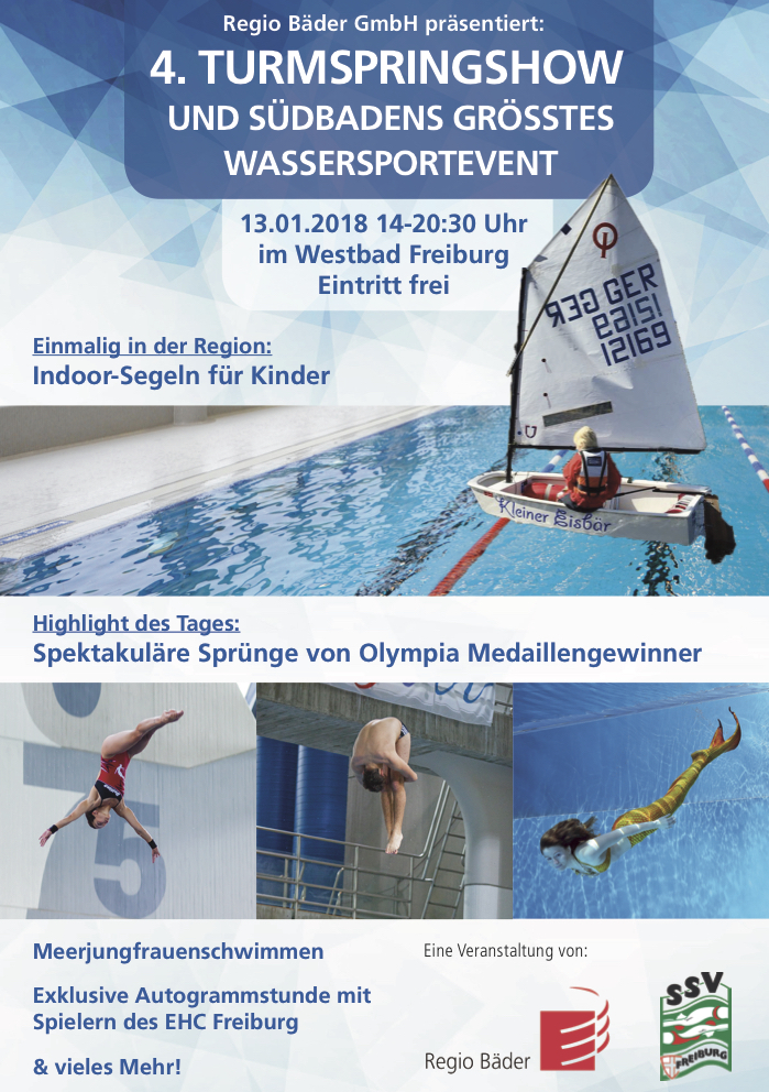optimist, Westbad, Flyer, Turmspringen